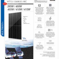 Tấm pin năng lượng mặt trời HTSAAE 410W