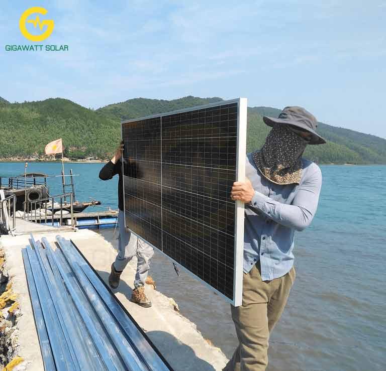 Tấm pin năng lượng mặt trời mono 400w hiệu suất cao giá tốt tại tphcm - 03