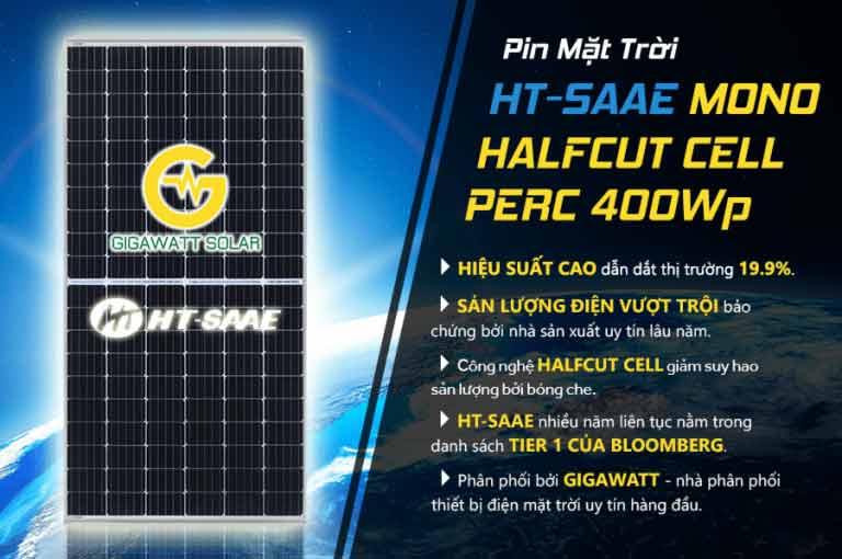 Tấm pin năng lượng mặt trời mono 400w hiệu suất cao giá tốt tại tphcm - 01